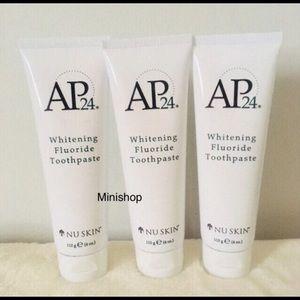 3 Nu Skin AP24 Whitening Toothpastes